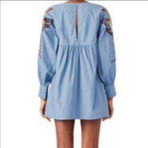 Free People Blue Combo Dress